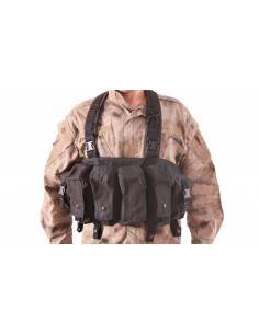 DELTA TACTICS CHEST RIG BK