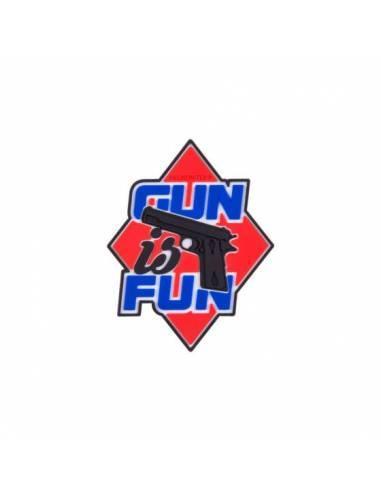 HELIKON PARCHE GUN IS FUN