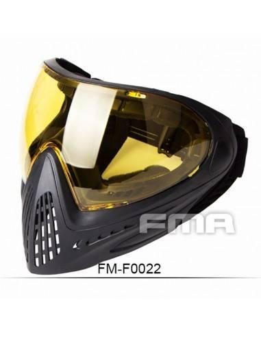 FMA F1 FULL FACE CRISTAL AMARILLO
